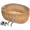 Basil Pluto Cykelkorg brun